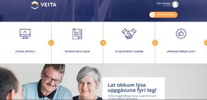Veita - Forsíða